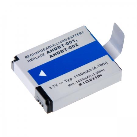 Power3000 PL731B - acumulator replace pt GoPro Hero HD si Hero2 HD tip AHDBT-002/001