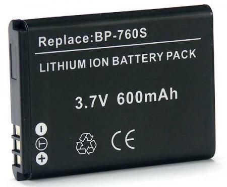 Power3000 PL760B.345 - acumulator tip BP-760S pentru Contax, 600mAh