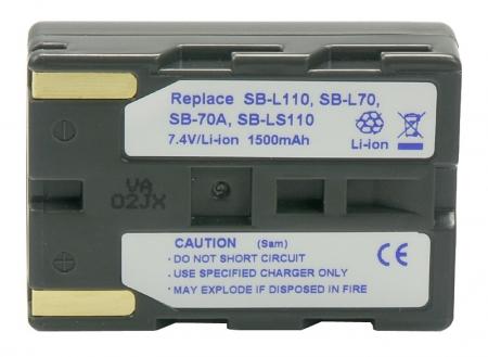 Power3000 PL811G.853 - acumulator tip SB-L110/SB-L70/SB-L70A pentru Samsung, 1500mAh