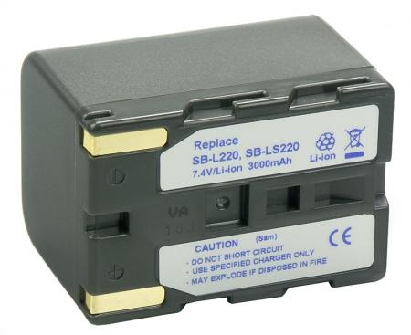 Power3000 PL822G.853 - acumulator tip SB-L220 pentru Samsung, 3000mAh