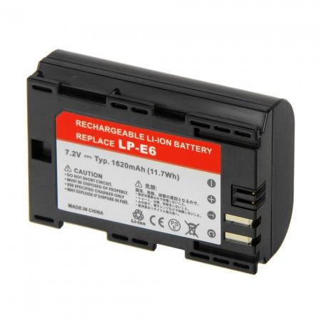 Power3000 PL826B.855 - acumulator replace tip LP-E6 pt Canon EOS 7D / 5D Mark II, 1620mAh