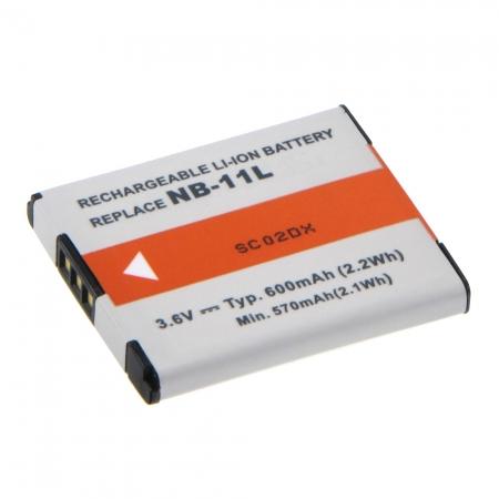 Power3000 PL831B-335 - acumulator replace tip Canon NB-11L, 600mAh