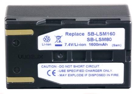 Power3000 PL860D.154 - acumulator tip SB-LSM160 pentru camere video Samsung, 1600mAh