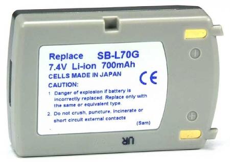 Power3000 PL870S.305 - acumulator tip SB-L70G pentru Samsung, 700mAh