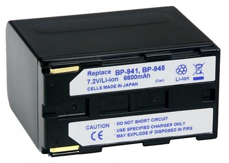 Power3000 PL941B.862 - acumulator Li-ion tip Canon BP-941/BP-945,  6600mAh