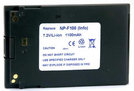 Power3000 PLC100D.348 - acumulator tip NP-F100 pentru Sony, 1100mAh