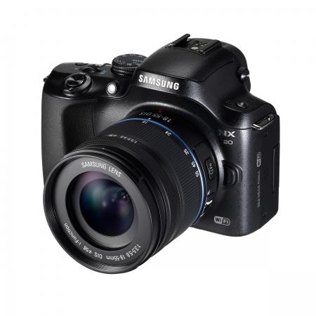 Samsung NX-20 kit 18-55 OIS negru