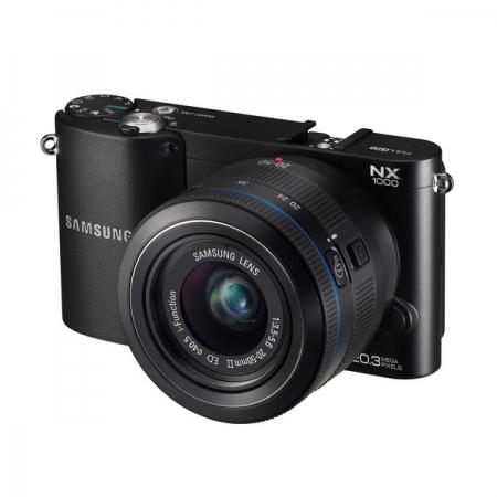 Samsung NX1000 negru cu obiectiv 20-50mm