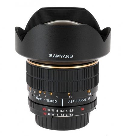 Samyang 14mm F2.8 Olympus 4/3