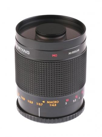 Samyang 500mm F/8 (Catadioptru) MC IF focalizare manuala - pentru montura T2