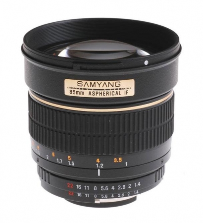 Samyang 85mm F1.4 Sony