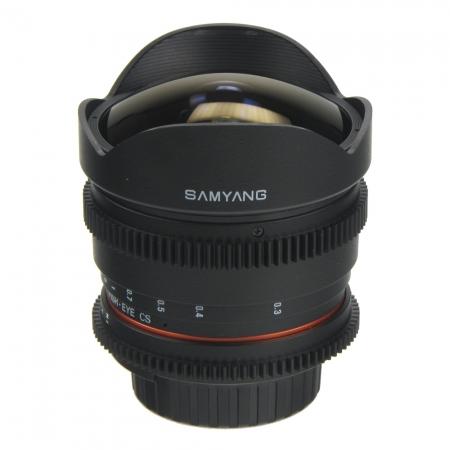 Samyang 8mm T3.8 Nikon VDSLR - Cine Lens