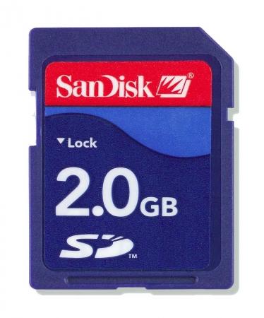 Sandisk SD 2GB Standard