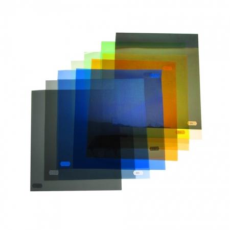Set filtre corectie pentru lumina continua 24x30cm