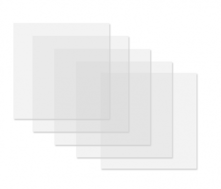 Set filtre difuzie pentru lumina continua 24x30cm