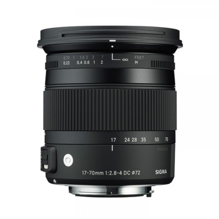 Sigma 17-70mm f/2.8-4 DC Macro OS HSM - Canon EOS - Contemporary