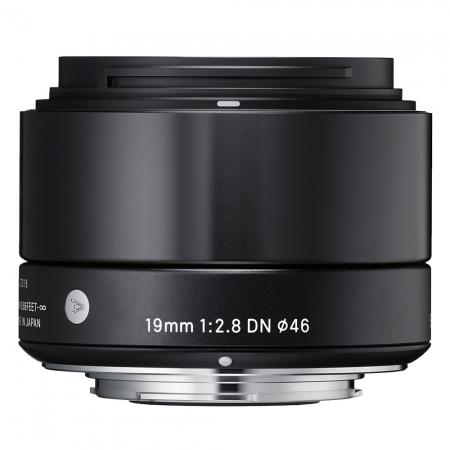 Sigma 19mm F2.8 DN Art negru - montura Sony NEX