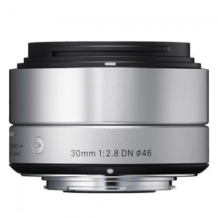 Sigma 30mm f2.8 DN Art argintiu - montura Micro Four Thirds