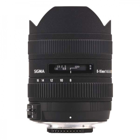 Sigma 8-16mm f/4.5-5.6 DC HSM - Canon EF-S