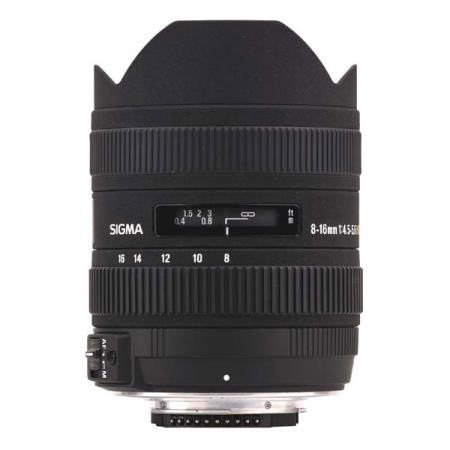 Sigma 8-16mm f/4.5-5.6 DC HSM pentru Pentax