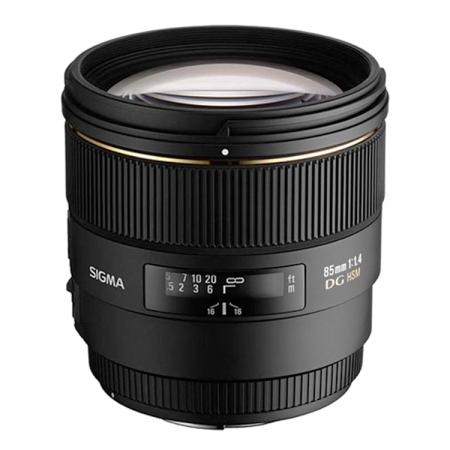 Sigma 85mm f/1.4 EX DG HSM - Nikon AF-S FX