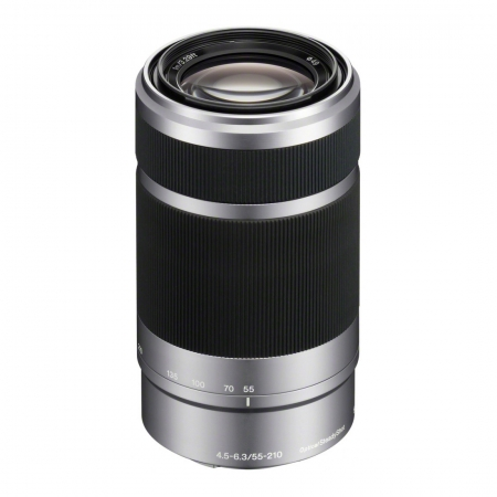 Sony 55-210mm f/4.5-6.3 OSS - argintiu, montura E