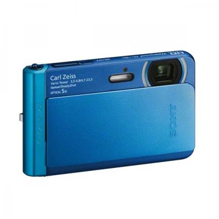 Sony DSC-TX30 albastru - aparat subacvatic 18Mpx, zoom 5x, Full HD