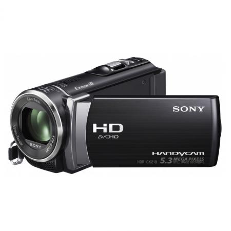 Sony HDR-CX210E negru - camera video FullHD, 8GB, zoom optic 25x
