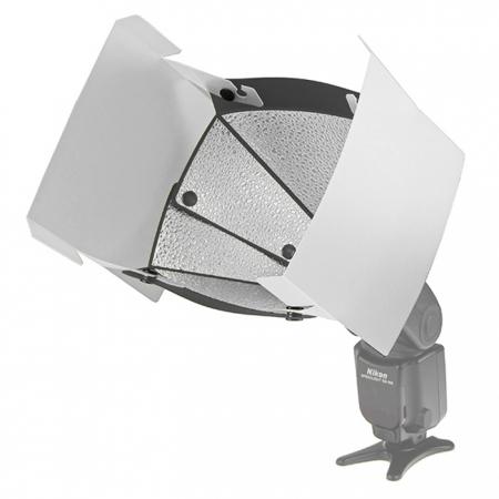 Speedlight Pro Kit Barndoor PBD-T (set voleti semi-transparenti)