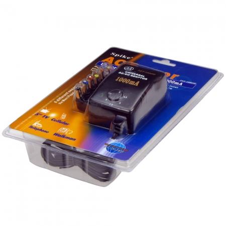 Spike PST-1000 - alimentator universal 3/4.5/6/7.5/9/12v, 1000mA max