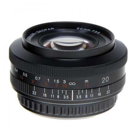 Voigtlander Color Skopar 20mm f/3.5 SL II Asph. pentru Canon
