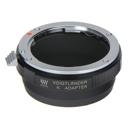 Voigtlander MFT/LEM - Adaptor obiective montura Pentax K pentru aparate MicroFourThirds