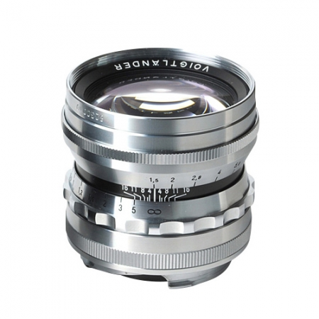 Voigtlander Nokton 50mm f/1.5 - argintiu