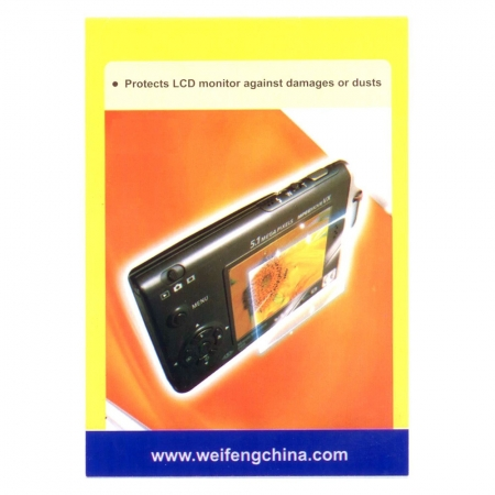 Weifeng PCK-L25 Screen Protector - folii protectie LCD 3.5