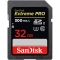SanDisk Extreme Pro SDHC - Card 32GB 300MB/s UHS-II / U3 Clasa 10