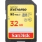 SanDisk Extreme SDHC 32GB 90MB/s. 600 X, U3, V30 - video speed class, 4K UHD