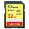 SanDisk Extreme SDHC 32GB 90MB/s. UHS U3 SDSDXNE-032G-GNCIN