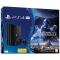 Sony - Consola PS4 1TB Slim Negru, Editie Limitata + Joc Star Wars Battlefront II