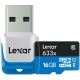 Lexar microSDHC 633x UHS-I 16GB + cititor USB 3.0