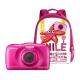 Nikon Coolpix W100 Backpack kit - aparat foto subacvatic + rucsac, roz