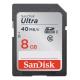 SanDisk SDHC Ultra UHS-I U1 8GB - card de memorie 40MB/s