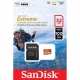 Sandisk Extreme MicroSD 32GB, UHS-I, 100MB/s (667 X), video (viteza): V30 / C10 / U3 + adaptor SD