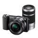 Sony Alpha A5000 KIT(ILCE-5000L/B) + SEL16-50mm +SEL55-210