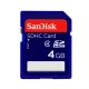Sandisk SDHC 4GB STD