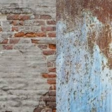 Lastolite LB5713 Urban Collapsible Background 1.5x2.1m Rusty Metal/Plaster Wall