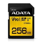 ADATA Premier One SDXC 256GB UHS-II U3, Class 10, V90, 275MB/s