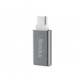 Benks Adaptor USB-C USB 3.0 - argintiu