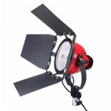 CTR-800W - lampa halogen 800W cu voleti (mandarina)