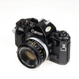 Canon A1 + 50mm FD 1.8 - SH5359-1
