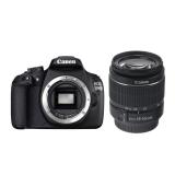 Canon EOS 1200D + EF-S 18-55mm f/3.5-5.6 DC (fara stabilizare)